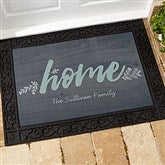 Charmant Cozy Home Personalized Doormat  18x27