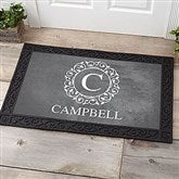 Circle & Vine Monogram Personalized Medium Doormat- 20x35 - 18744-M