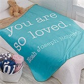 Write Your Own Kids Expressions Personalized Premium 50x60 Sherpa Blanket - 18748