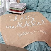 Fun Expressions Personalized 60x80 Fleece Blanket - 18777-L