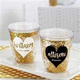 Glitter & Gold Bridal Party 10oz. Stemless Cup - 18820-S