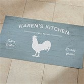 Farmhouse Personalized Oversized Doormat- 24x48 - 18830-O