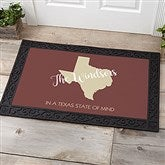 State Pride Personalized Doormat-20x35 - 18832-M