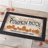 Pumpkin Patch Personalized Doormat-20x35 - 18833-M