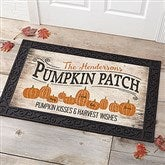 Pumpkin Patch Personalized Doormat-20x35 - 18833-M