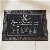 Kitchen Conversions Personalized Doormat-18x27 - 18834