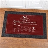 Kitchen Conversions Personalized Doormat-20x35 - 18834-M