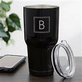 30oz. Personalized Stainless Steel Travel Tumbler- Monogram - 18849-M