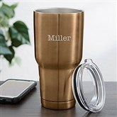 30oz. Personalized Stainless Steel Travel Tumbler- Name - 18849-N