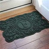 Gallifrey Monogram Personalized AquaShield™ Molded Doormat - 18850D