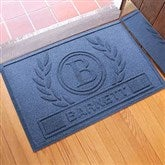 Laurel Wreath Personalized AquaShield™ Molded Doormat - 18851D