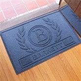 Laurel Wreath Personalized AquaShield™ Molded Doormat - 18851D