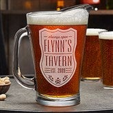 Beer Label Personalized Beer Pitcher - 18869-P
