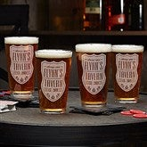 Beer Label Personalized 16oz. Pint Glass - 18869-G