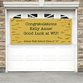 Expressions Personalized Graduation Signature Banner - 18926