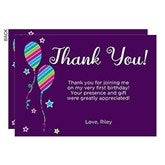 Birthday Girl Personalized Thank You Cards - 18938