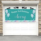 Birthday Girl Personalized Party Banner - 18939