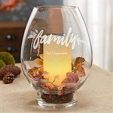 Cozy Home Engraved Hurricane Candle Holder - 18964