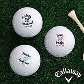 Now & Forever Personalized Golf Ball Set - Callaway® Warbird Plus - 18968-CW