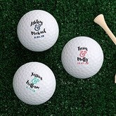 Now & Forever Personalized Golf Ball Set - Non Branded - 18968-B