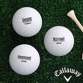 I Do Crew Personalized Golf Ball Set- Callaway® Warbird Plus - 18969-CW