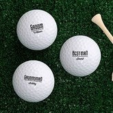 I Do Crew Personalized Golf Ball Set- Non Branded - 18969-B