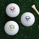 Grandpa Established Personalized Golf Ball Set - Non Branded - 18970-B