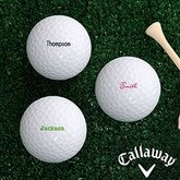 Classic Celebrations Personalized Golf Ball Set - Callaway® Warbird Plus - 18971-CW-Name