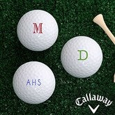 Classic Celebrations Personalized Golf Ball Set - Callaway® Warbird Plus - 18971-CW-Monogram