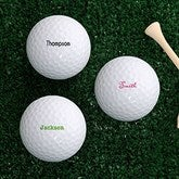 Classic Celebrations Personalized Golf Ball Set - Non Branded - 18971-B-Name
