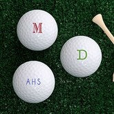 Classic Celebrations Personalized Golf Ball Set - Non Branded - 18971-B-Monogram