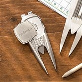 Cutter & Buck® Classic Personalized Divot Tool, Ball Marker & Clip - 18974