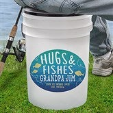 Hugs and Fishes Personalized Bucket Cooler - 18975