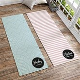 Patterned Name Meaning Personalized Yoga Mat - 18984