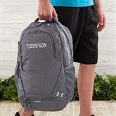 Under Armour® Embroidered Graphite Backpack- Name - 18987-N