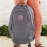 Under Armour® Embroidered Graphite Backpack- Monogram - 18987-M