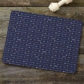 Modern Arrow Personalized Pet Food Mat - 19027