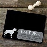 Pet Life Personalized Dog Food Mat - 19033