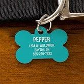 Expressions Personalized Dog ID Tag - Bone - 19035-B