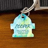 Watercolor Personalized Dog ID Tag - Fire Hydrant - 19038-F