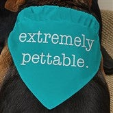 Pet Expressions Personalized Dog Bandana - 19041