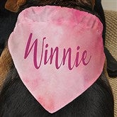 Watercolor Personalized Dog Bandana - 19045