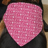 Repeating Name Personalized Dog Bandana - 19047