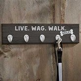 Farmhouse Style Personalized Leash Hook - 19049