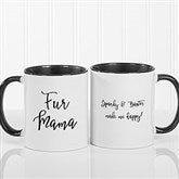 Pet Expressions Personalized Coffee Mug 11 oz.- Black - 19051-B