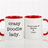 Pet Expressions Personalized Coffee Mug 11 oz.- Red - 19051-R