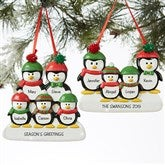 Custom Family Christmas Ornaments