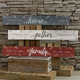 Cozy Home Personalized Wooden Sign - 19113