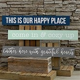 Home Expressions Personalized Wooden Sign - 19115