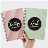 Name Meaning Personalized Mini Notebooks - Set of 2 - 19218